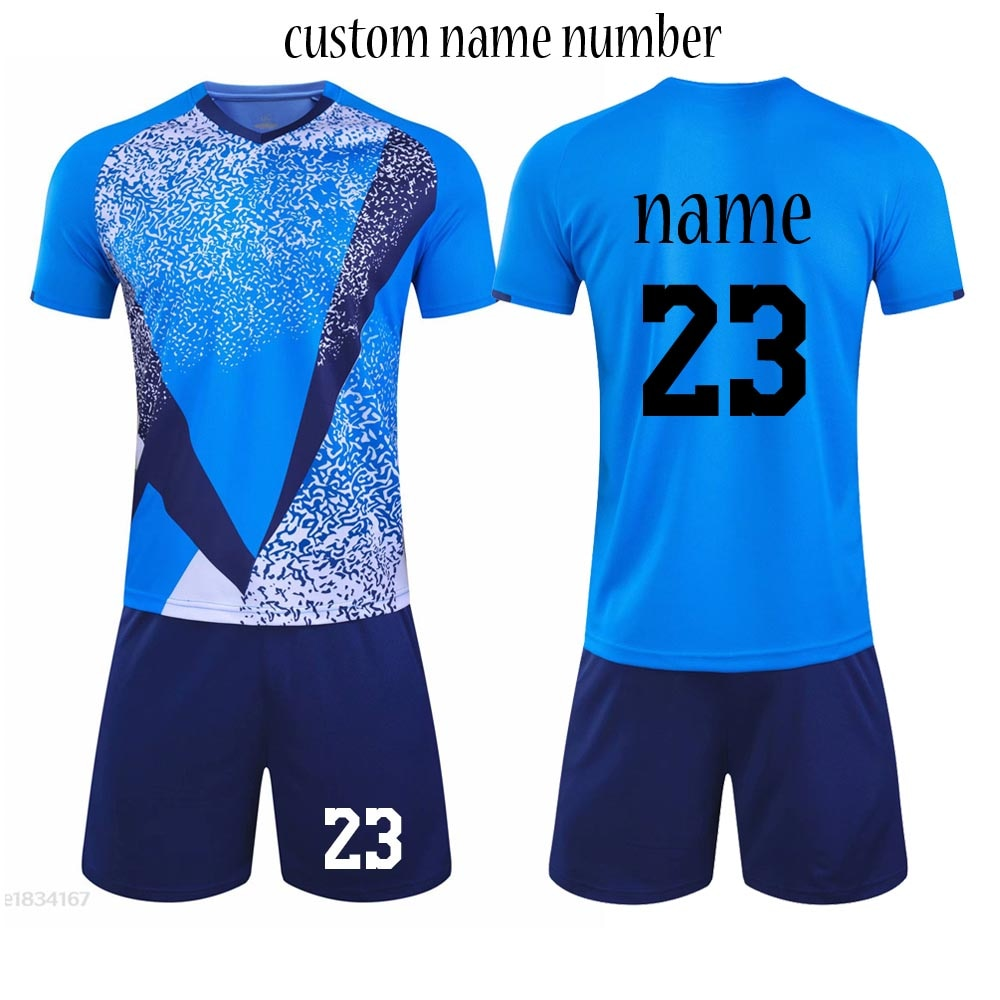 Adult Football Jerseys Men Soccer Jersey Uniform custom Boys girls Soccer Clothes Sets Youth Soccer Tracksuit For Men boys 2020