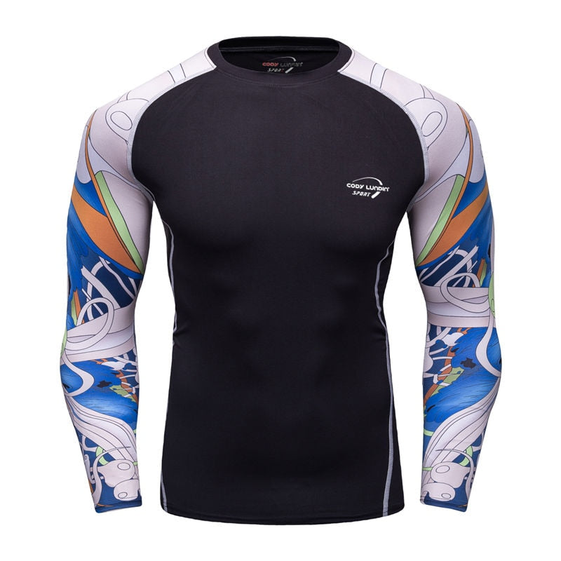 Long Sleeve Sport Running Quick Dry Soccer Training Men T Shirt Basketball Jersey Jogging gym sport Yoga suit