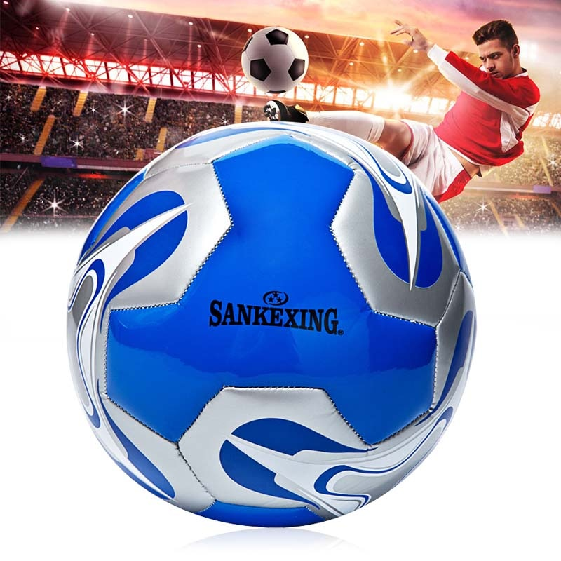 New High Quality Size 5 Football PU Leather Profession Match Training Soccer Ball Universal Wear-Resistance Soccer Balls