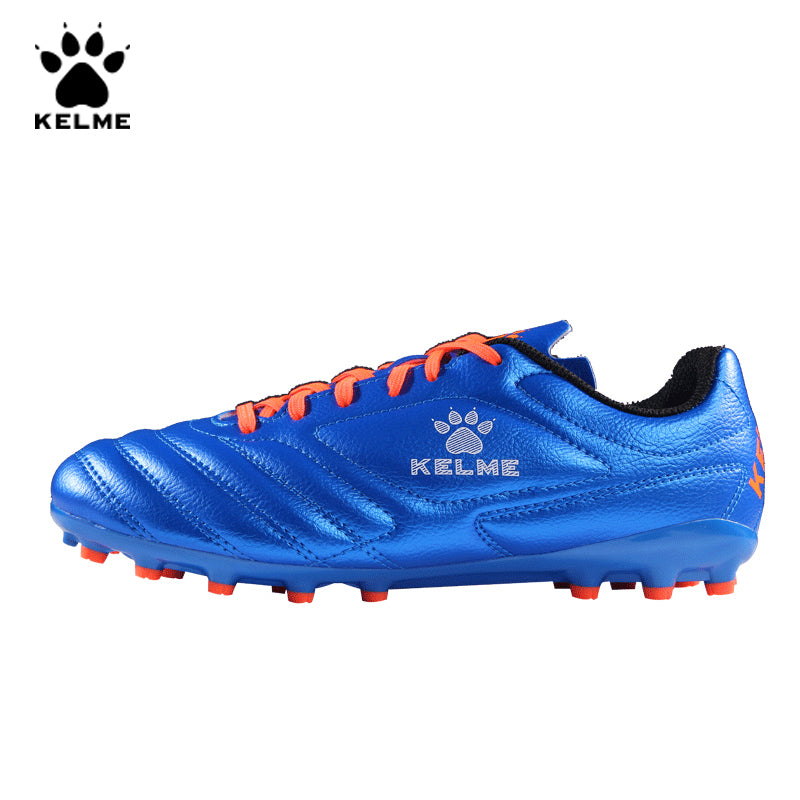 KELME Brand Professional Football Boots Soccer Shoes Cleats Original AG Artificial Sneakers Men Soccer Futsals Kids 68831126