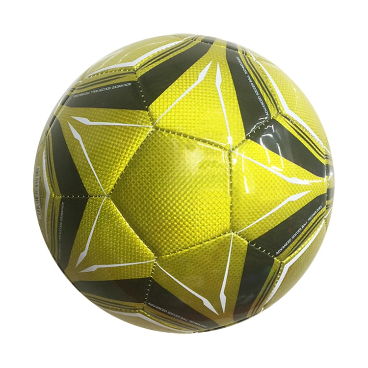 professional soccer ball standard Size 5 PU leather training football for children and adults