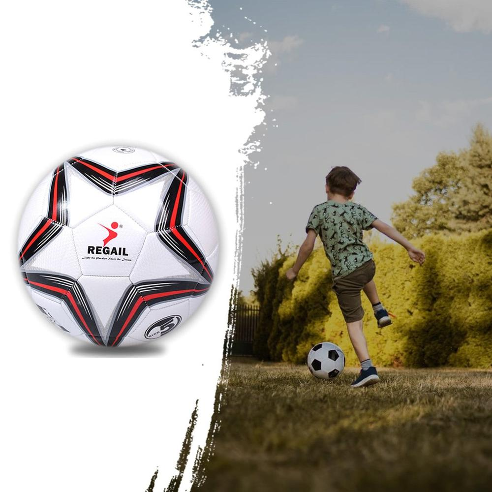 Football Student Adult Training Football 5 size PU Machine Sewing Soccer Teaching Football