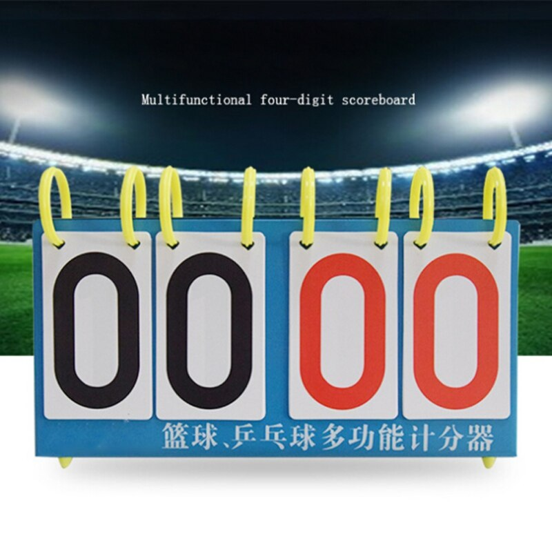 Volleyball Scoreboard 4/6 Digit Sports Soccer Referee Basketball Coach Score Board For Football Badminton TableTennis Scoreboard
