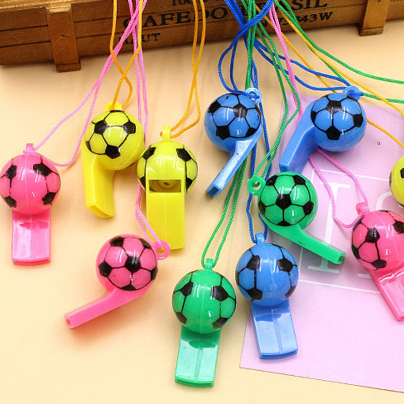 10pcs/lot Team Sports Cheerleaders Whistle Soccer Basketball Hockey Baseball Sports Referee Whistles Football Whistle