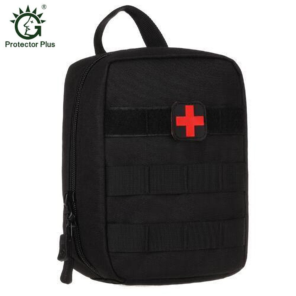 Mini Tactical EMT Pouch MOLLE First Aid Kit Bag IFAK Medical Utility Pouch for Home Workplace Camping Travel Outdoor Sports