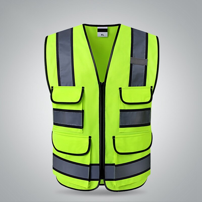 Recommend Sports Reflective Vest High Visibility Protector Vest Construction Site Outer Wear Safety Gear