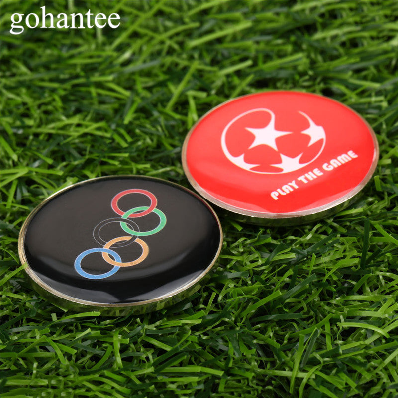 1pc Soccer Accessories Football Soccer Referee Selected Edges Toss Coin Table Tennis/Soccer Match Referees Double Sides gohantee