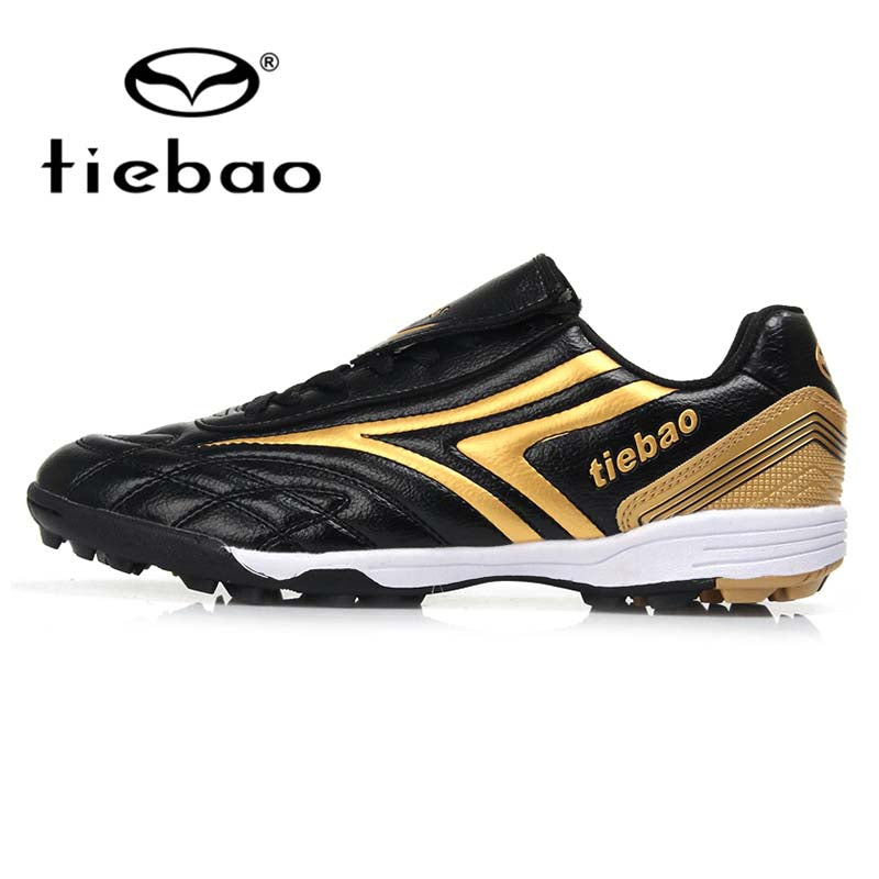 TIEBAO Professional Children Kids Teenagers TF Turf Sole Football Boots Sneakers Training Soccer Shoes Parent-Kid Shoes  EU32-37