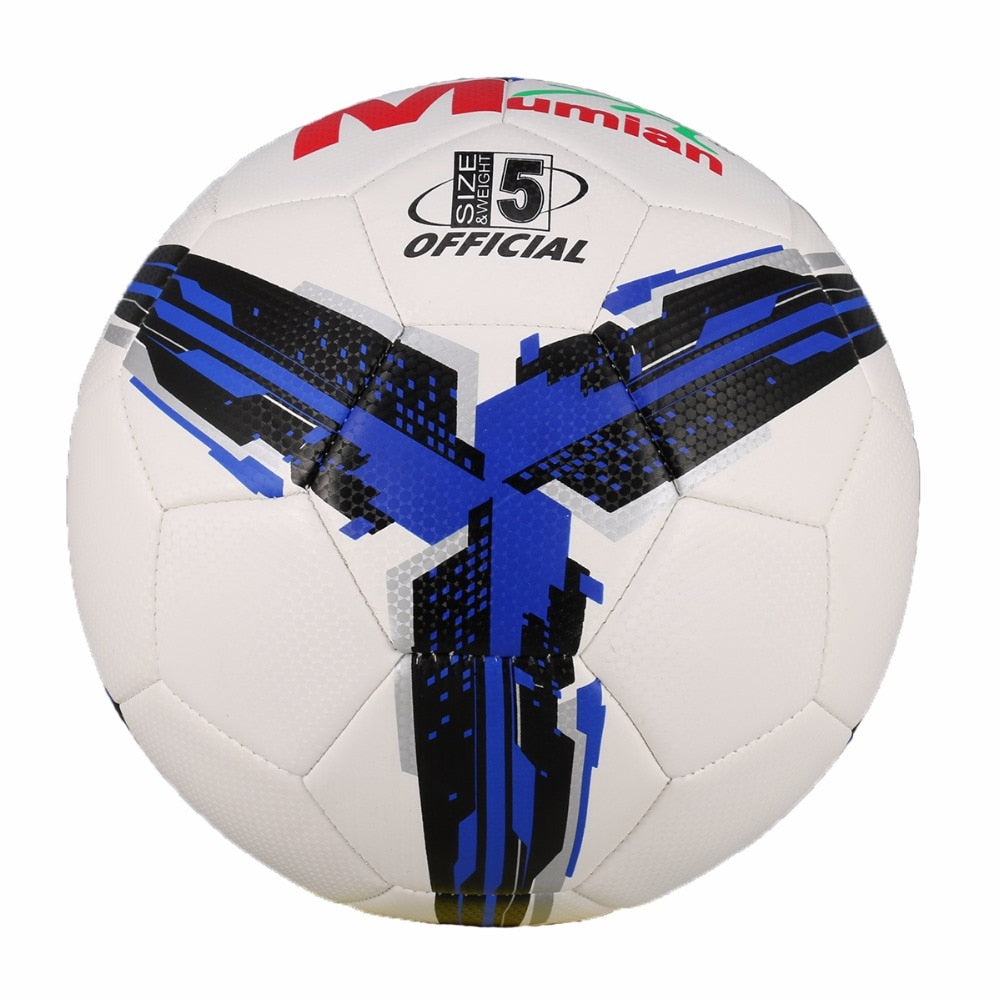 2018 High Quality Official Size 5 Standard PU Soccer Ball Training Football Balls Indoor&Outdoor With Gift Net Needle