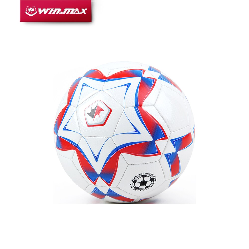 WINMAX Hot Sale High Quality  Size 4 Size 5 Offical Size PU Soccer Ball Football Ball with Hand Pump for Match Training