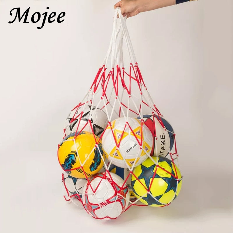 1 Piece Portable Polypropylene Football Net Holder Capacity 10 Balls Soccer Football Net Training Outdoor Sporting Volleyball