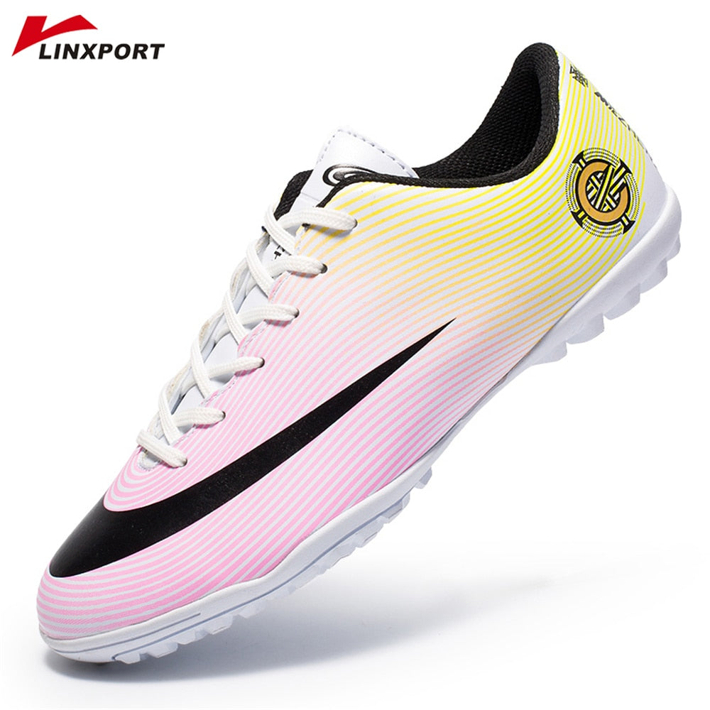 Professionl Soccer Shoes Light Weight TF Comfortable Soccer Shoe Adults Training Sneakers Non-slip Sport Cleat chuteira futebol