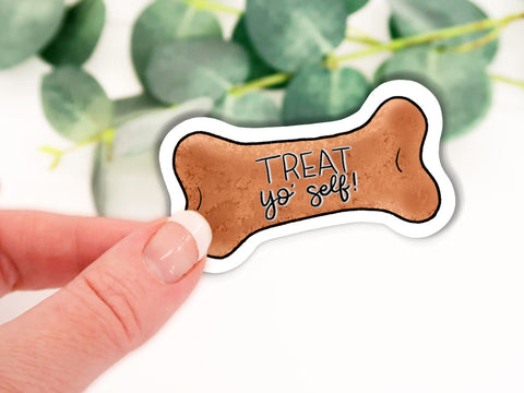 Dog Biscuit Sticker