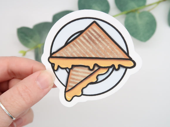 Grilled Cheese Sticker
