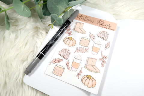 Autumn Vibes Sticker Sheet