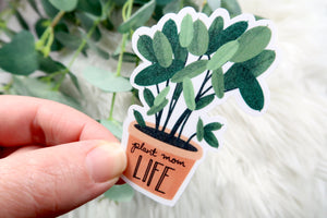 Plant Mom Dad Parent Life Sticker