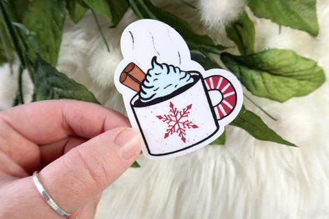 Christmas Mug Sticker