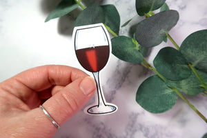 Red Wine Sticker