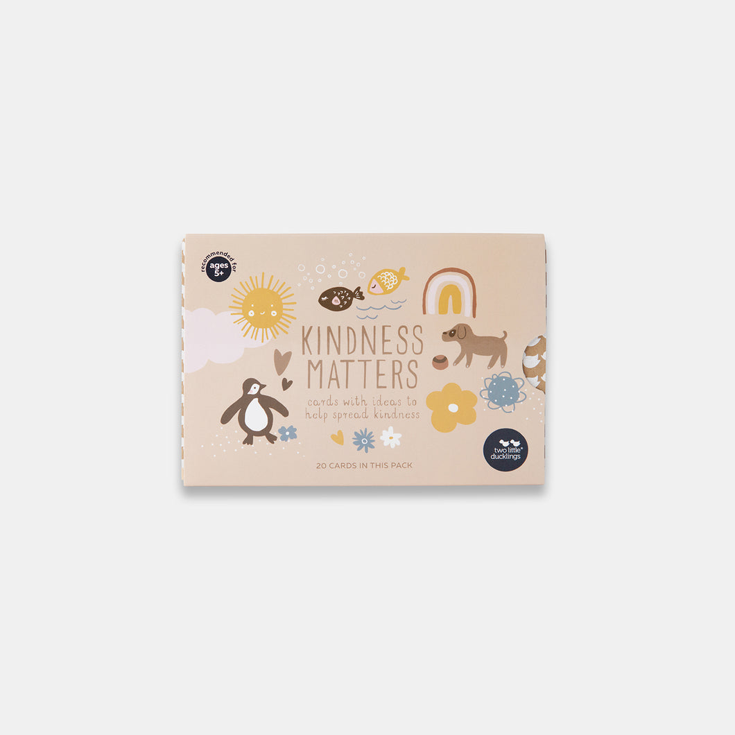 Kindness Matters Flash Cards - Two Little Ducklings