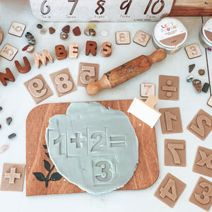 Numbers Eco Stamps (without handle)