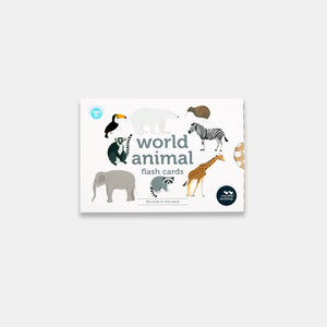 World Animals Flash Cards - Two Little Ducklings