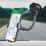 Flexible Gooseneck Gravity Car Mount