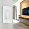 Smart Dimmer Wall Switch - White