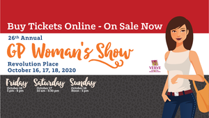 Grande Prairie Women's Show Fall 2020 Oct. 16 - 18