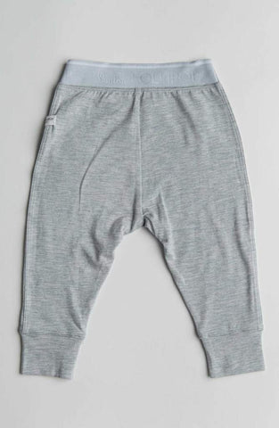Heather Grey Baby Pants