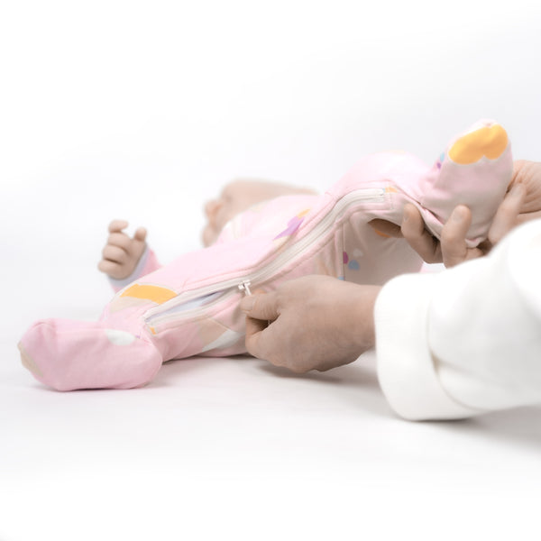 Sweet Scoops- Footed Babysuit