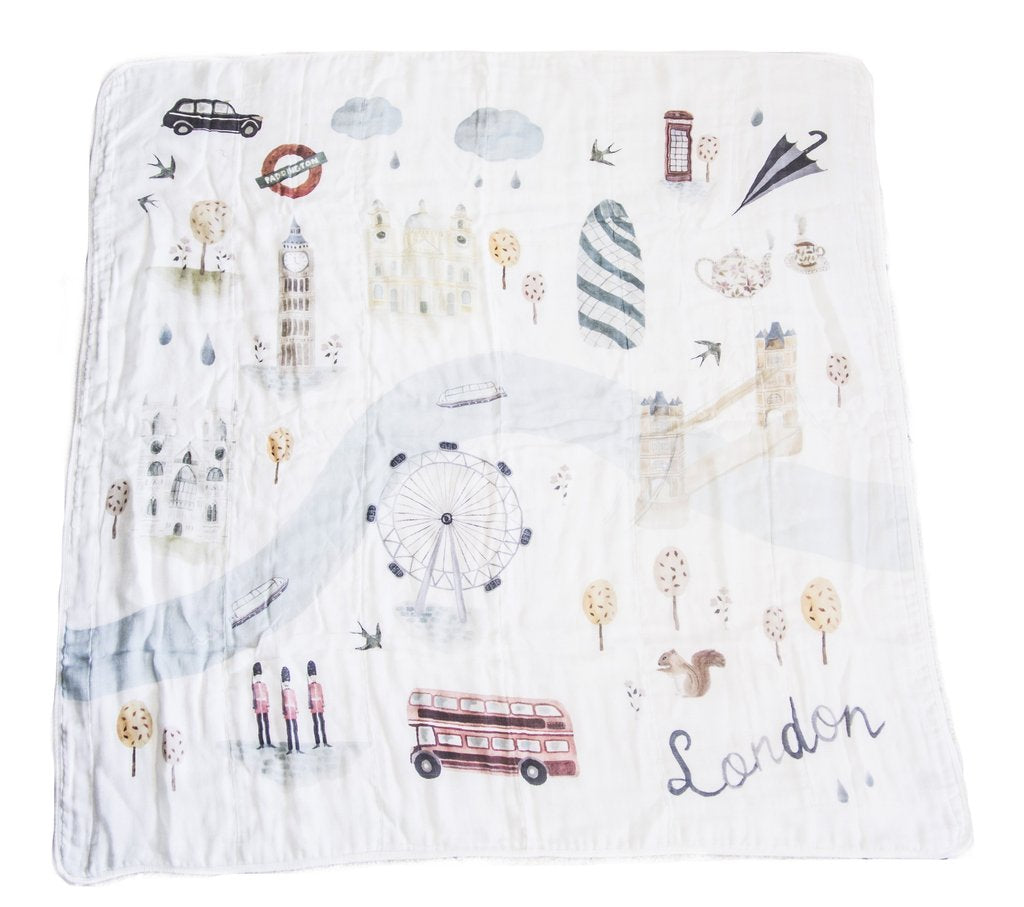 Muslin Swaddle - London