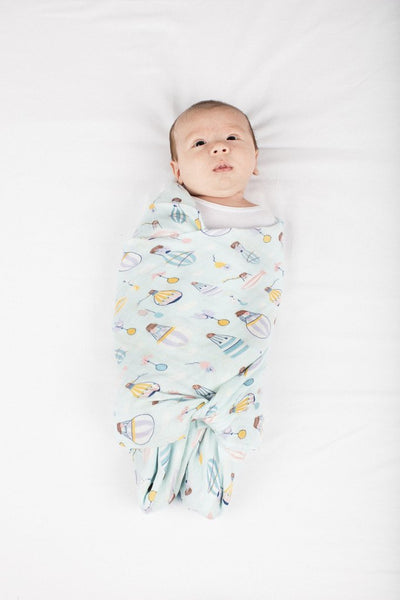 Muslin Swaddle - Up Up Away