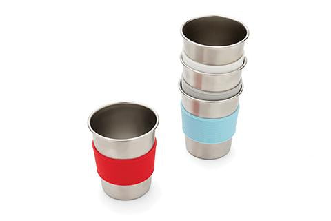 Stainless Steel Cup with Silicone Sleeve