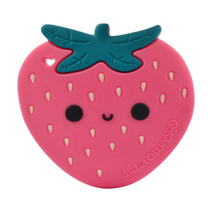 Strawberry Silicone Teether