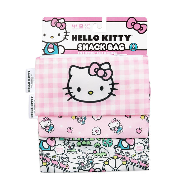 Snack Bag 3 Pack- Hello Kitty
