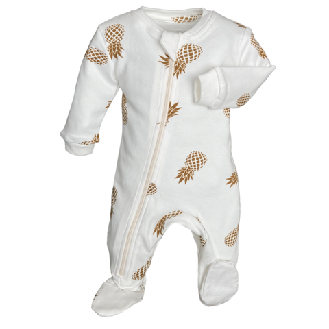 Sweet on the Inside- Footed Babysuit