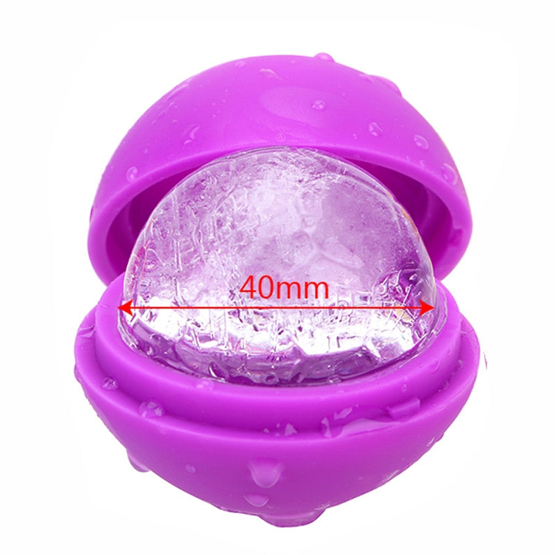 Round 4cm Ball Shaped Silicone Fruit Ice Cube Maker/Mould