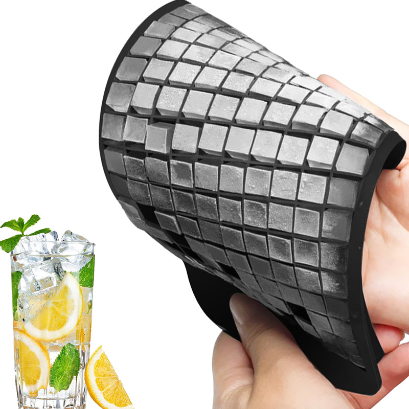 Ice Cube Tray Makes 160 Cubes 1X1cm Silicone Fruit Ice Cube Maker