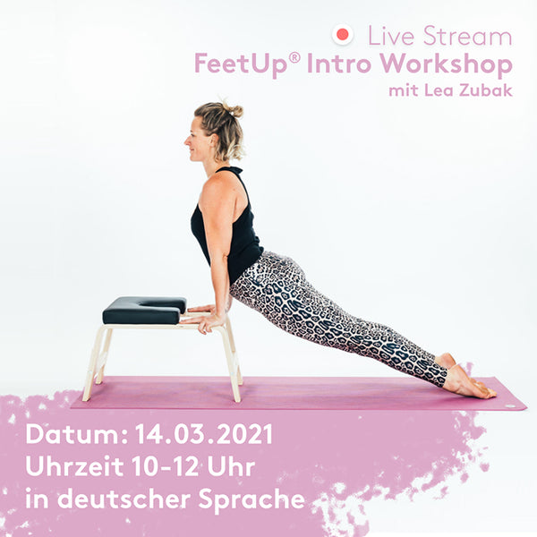 FeetUp Intro Online Workshop (DE)