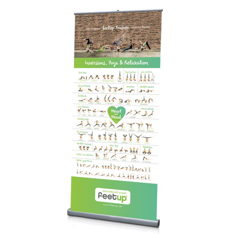 FeetUp® Asana Roll-Up / Display / English