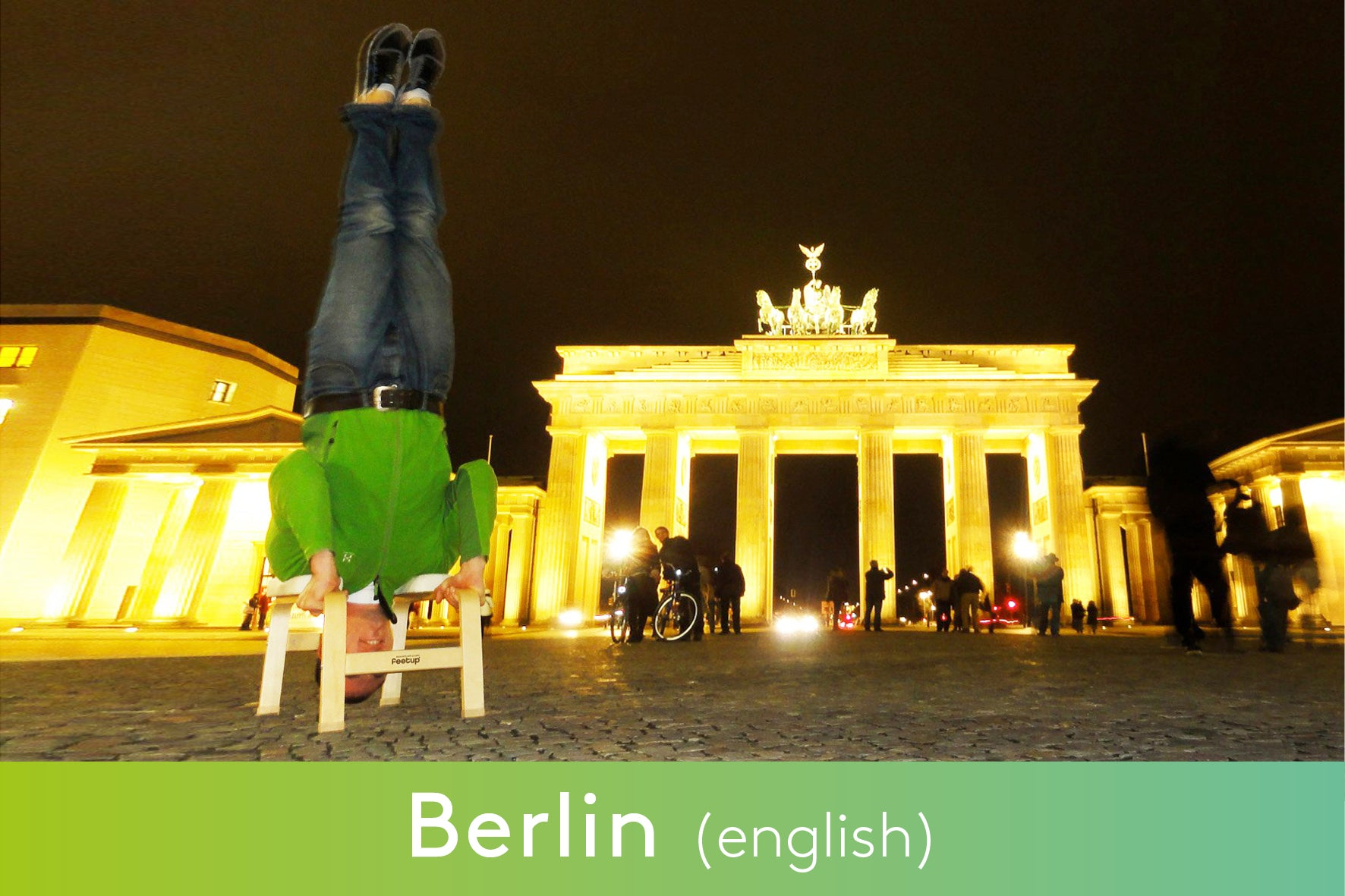 Formación de profesores FeetUp® - Berlin - 11th-13th September 2020 (english)