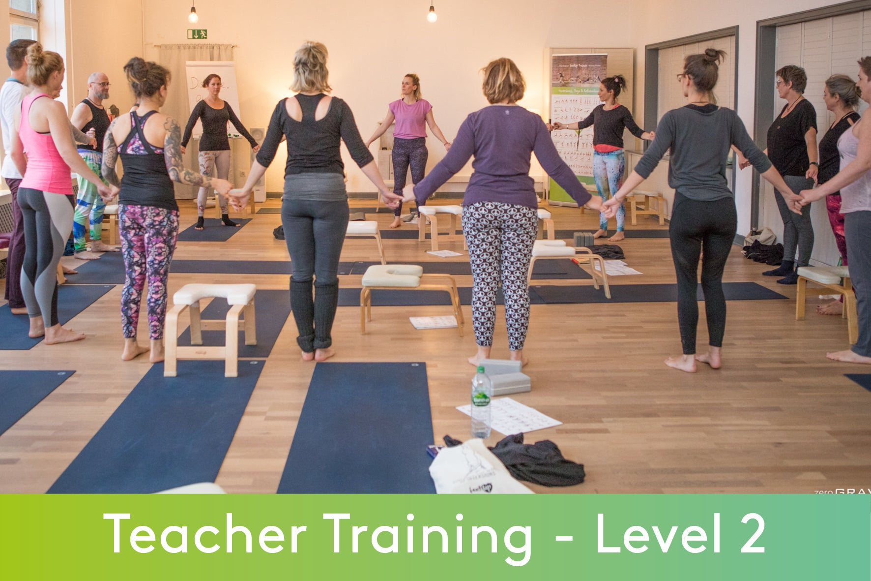 FeetUp® Teacher Training Level 2 - Bad Meinberg 22th -24th of October 2021 (incl. Accommodation)