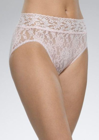 Signature Lace French Brief - Pink