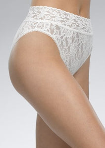 Signature Lace French Brief - Marshmallow