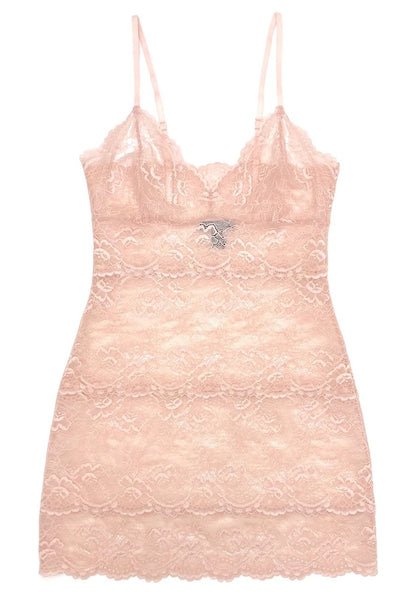 All Lace Chemise - Cherry Blossom