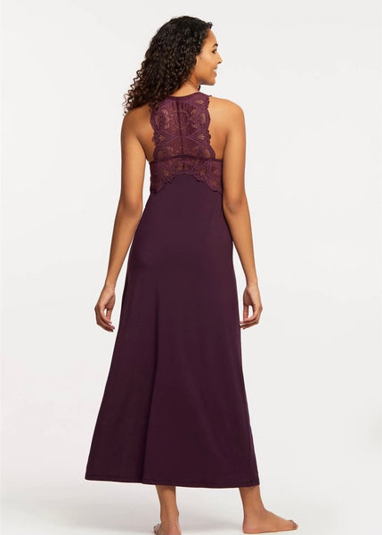 Iconic Gown - Dark Pansy