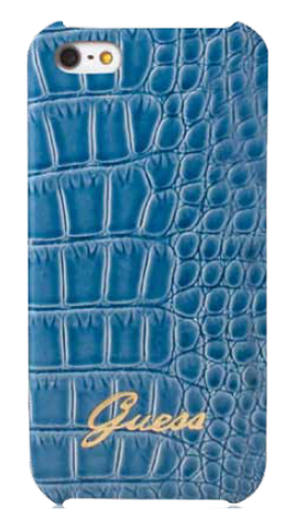 Croco Case Blue