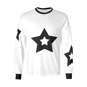 Bulky Stars. long sleeve T-shirt by interestprint - East Hills Casuals