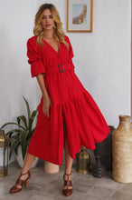 Load image into Gallery viewer, Peony Midi Dress by ELF - East Hills Casuals
