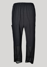 Load image into Gallery viewer, PANTS LOOSE ELASTIC BLACK PLAIN/MESH by BERENIK - East Hills Casuals